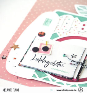 Layout mit integriertem Minibuch für Danipeuss