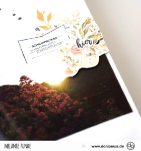 Bretagne Mini mit dem September Memory Notebook Kit von Danipeuss